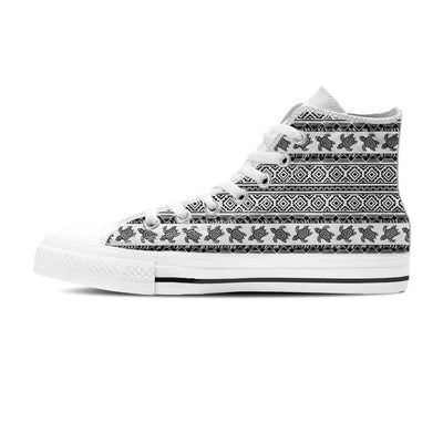 Ethnic Sea Turtle - Women's High Top - the ocean vibe Ocean Apparel