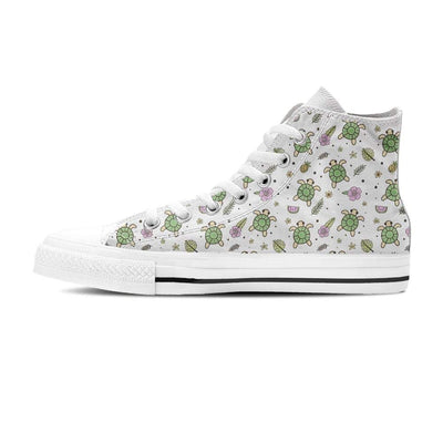Aloha Sea Turtle - Women's High Top - the ocean vibe Ocean Apparel