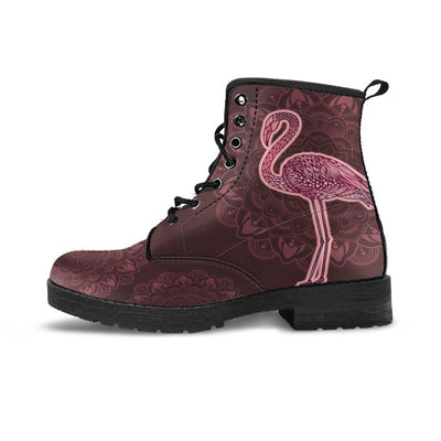 Flamingo Pink - Women's Boots - the ocean vibe Ocean Apparel