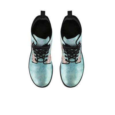 Lotus Sea Turtle - Women's Boots - the ocean vibe Ocean Apparel