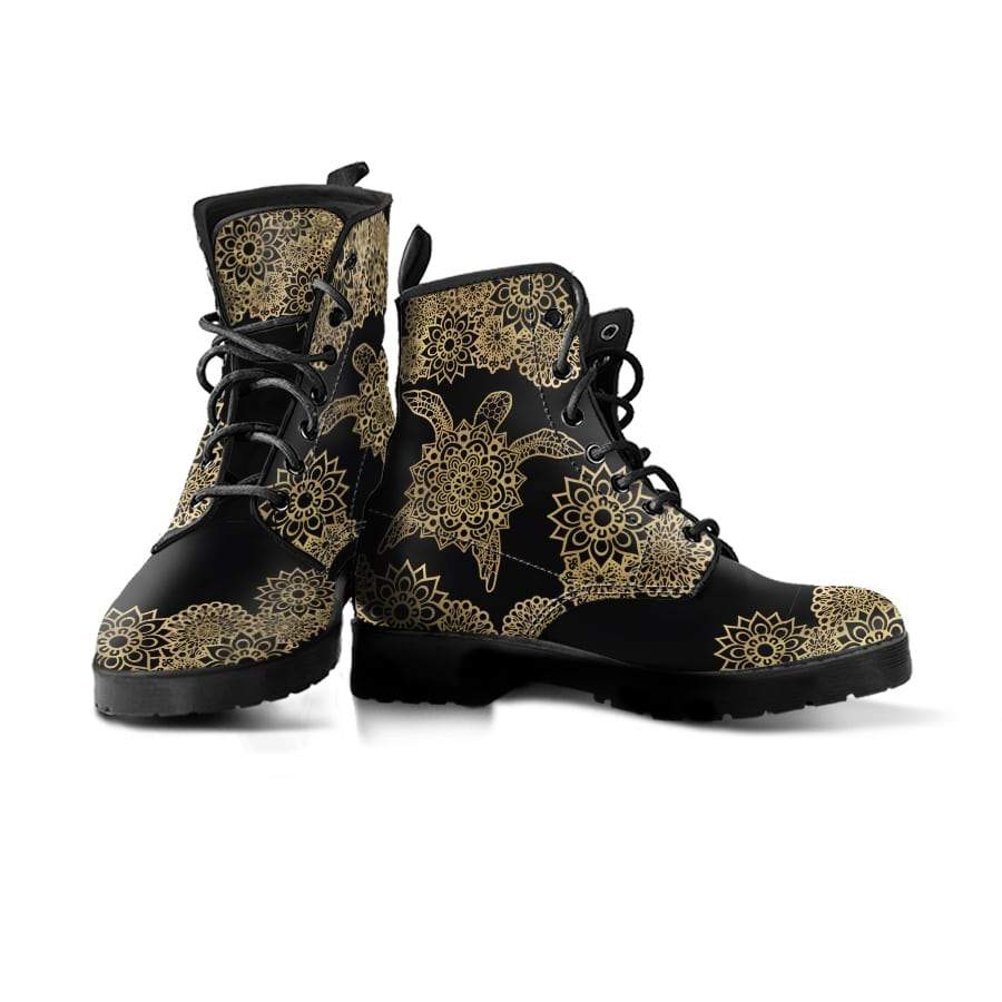 Golden Sea Turtle - Women's Boots