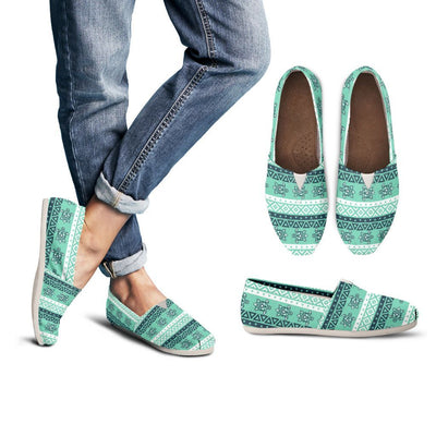 Tribal Sea Turtle - Women's Casual Shoes - the ocean vibe Ocean Apparel