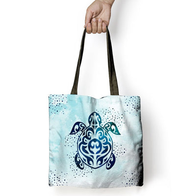 Sky Sea Turtle - Tote Bag - the ocean vibe Ocean Apparel