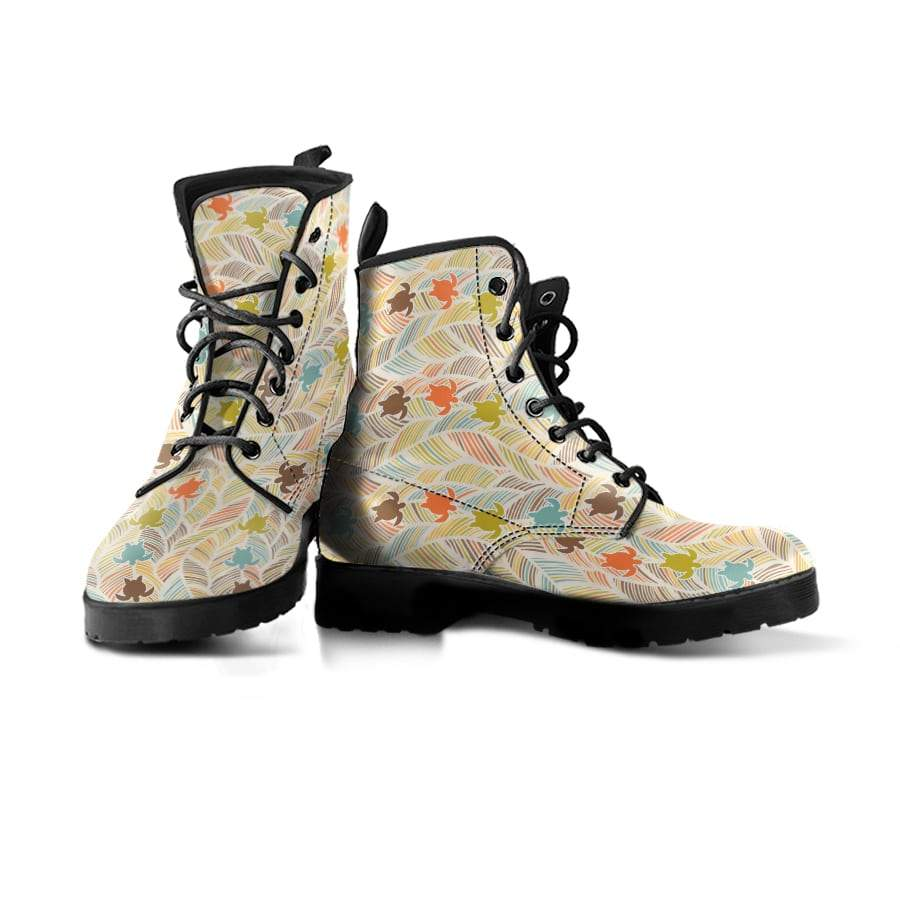 Boho Sea Turtle - Women's Boots