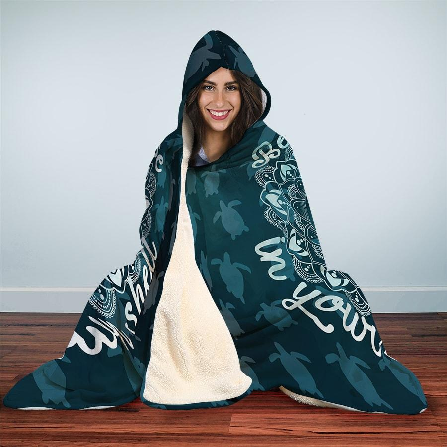 Your Own Shell - Hooded Blanket - the ocean vibe Ocean Apparel