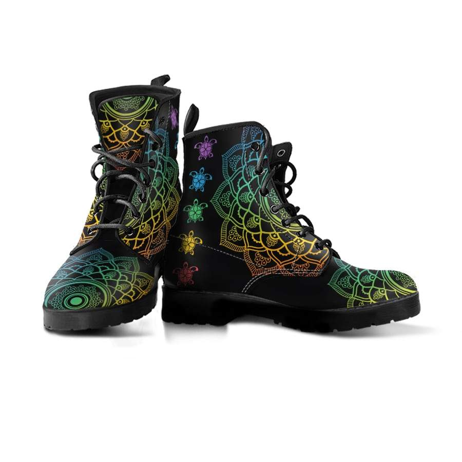 Sea Turtle Trip Colorful - Women's Boots