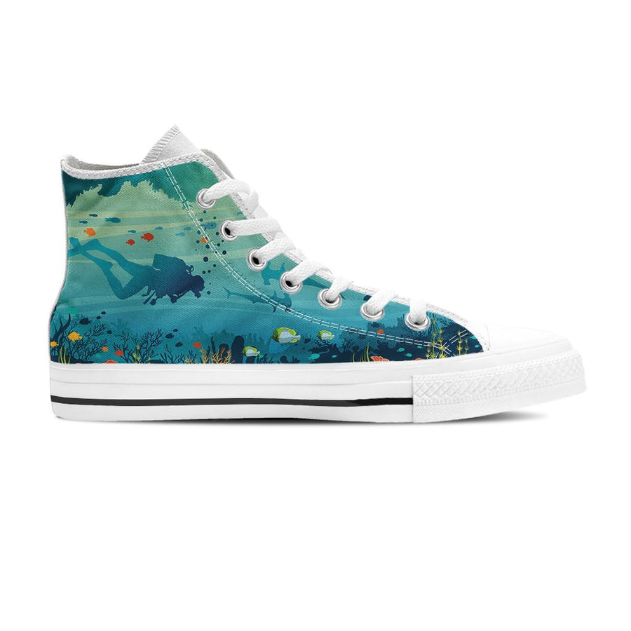 Underwater - Women's High Top
