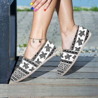 Ethnic Sea Turtle - Women's Casual Shoes - the ocean vibe Ocean Apparel