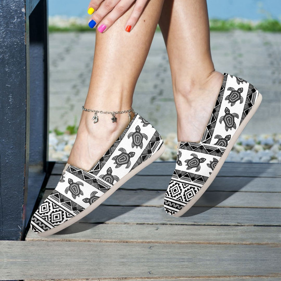 Ethnic Sea Turtle - Women's Casual Shoes
