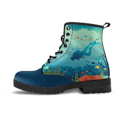 Underwater - Women's Boots - the ocean vibe Ocean Apparel