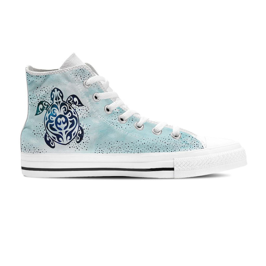 Sky Sea Turtle - Women's High Top