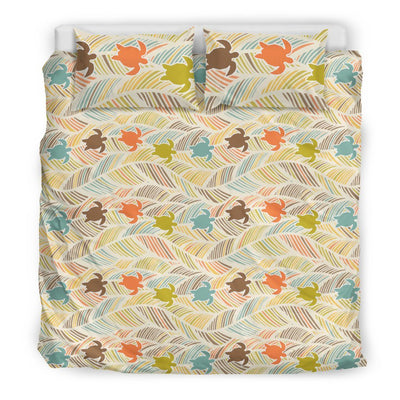 Boho Sea Turtle - Bedding Set - the ocean vibe Ocean Apparel