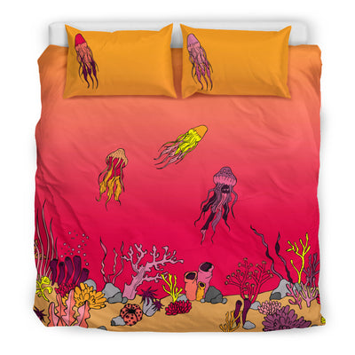 Coral Reef & Jellyfish - Bedding Set