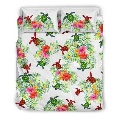 Pop Sea Turtle - Bedding Set - the ocean vibe Ocean Apparel