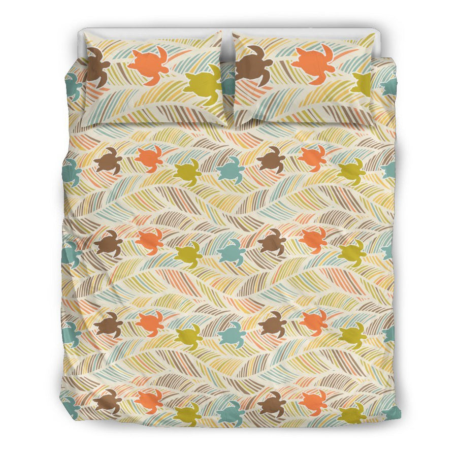 Boho Sea Turtle - Bedding Set