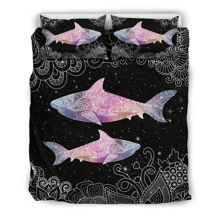 Galaxy shark - Bedding Set