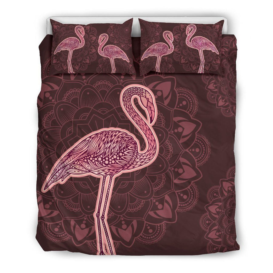 Flamingo Pink - Bedding Set