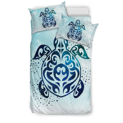 Sky Sea Turtle - Bedding Set - the ocean vibe Ocean Apparel