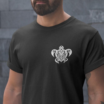 Maori Sea Turtle - Men's T-shirt - the ocean vibe Ocean Apparel