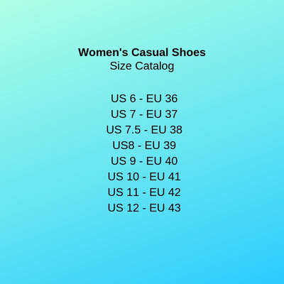 Sky Sea Turtle - Women's Casual Shoes