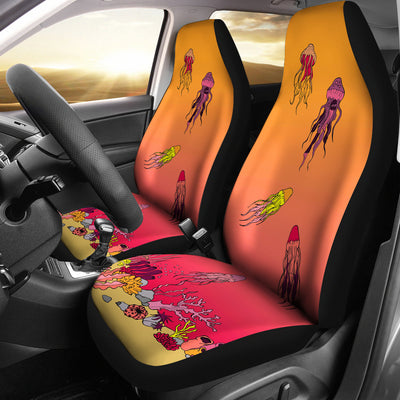 Coral Reef & Jellyfish - Car Seat Covers