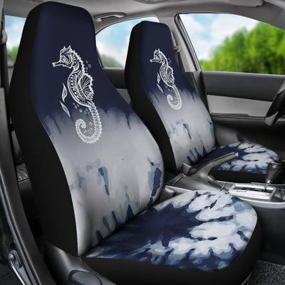 Midnight Seahorse - Car Seat Covers
