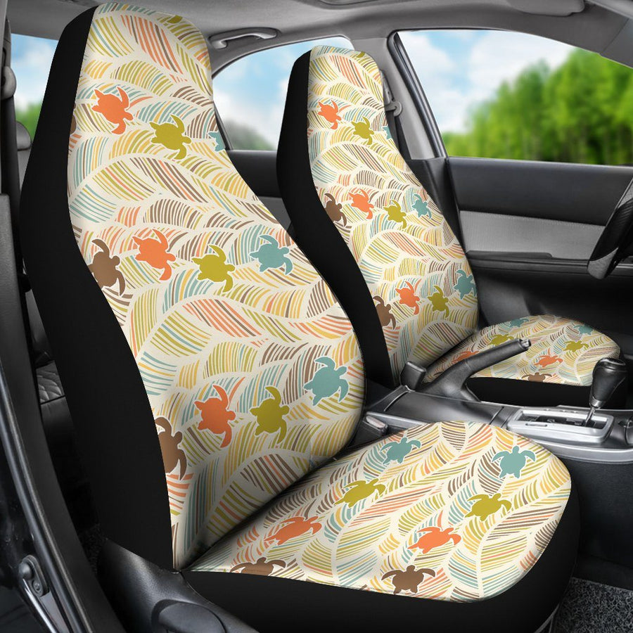 Boho Sea Turtle - Car Seat Covers