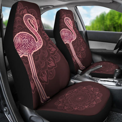 Flamingo Pink - Car Seat Covers - the ocean vibe Ocean Apparel