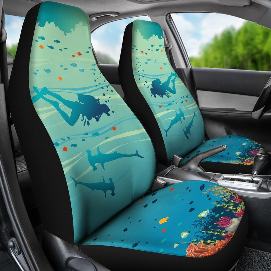 Underwater - Car Seat Covers