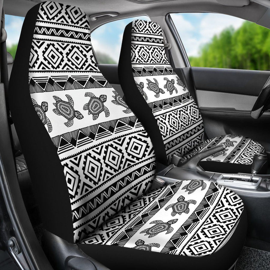 Ethnic Sea Turtle - Car Seat Covers