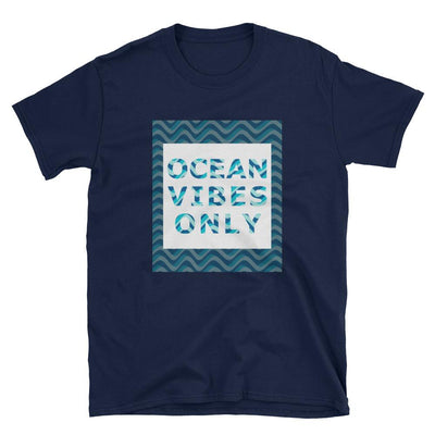 Ocean Vibes Only #1 - Men's T-shirt - the ocean vibe Ocean Apparel