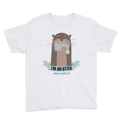 I'm an otter - Kid's T-shirt - the ocean vibe Ocean Apparel