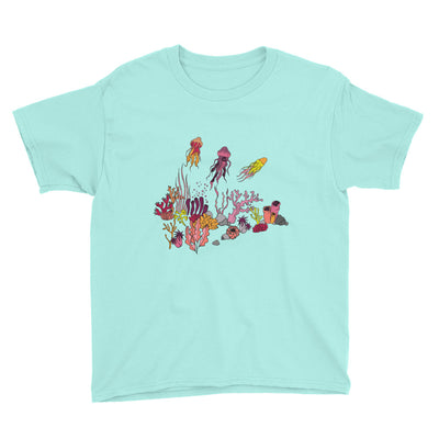 Coral Reef & Jellyfish - Kid's T-shirt