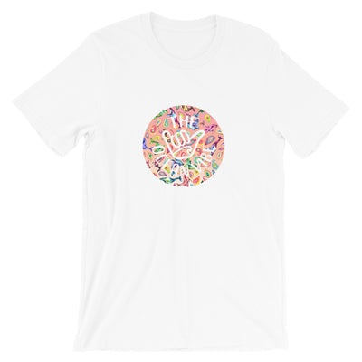 The Peach Paisley Whale - Women's T-Shirt