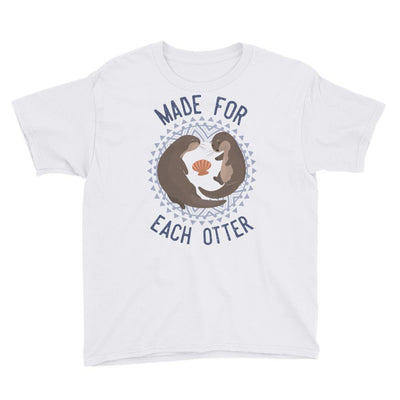 Made For Each Otter - Kid's T-shirt - the ocean vibe Ocean Apparel