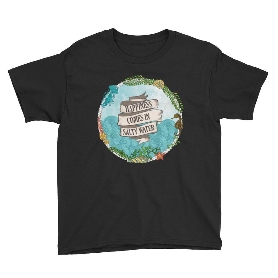 Salty Water - Kids T-shirt - the ocean vibe Ocean Apparel