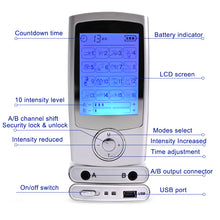 Load image into Gallery viewer, Body massage electric muscle stimulator EMS electronic pulse massager, physical therapy