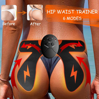 Smart exerciser for the muscles of the thighs buttocks