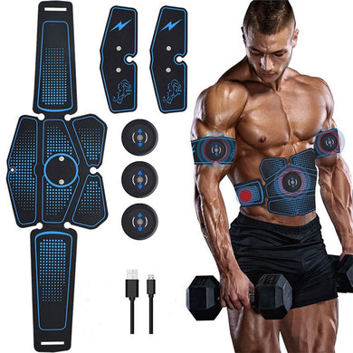 Wireless muscle stimulator trainer smart fitness for abdominal muscles