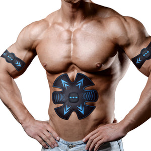 Smart fitness EMS trainer body massage USB Rechargeable