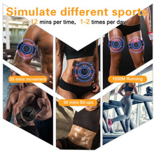 Load image into Gallery viewer, Rechargeable wireless EMS electric abdominal arm muscle stimulator trainer
