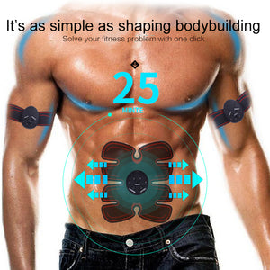 Smart exerciser's abdominal muscles