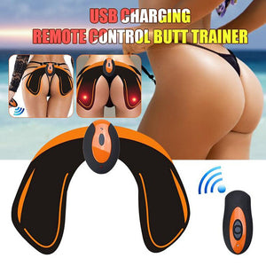 USB rechargeable muscle stimulator Butt toner massager slimming ABS fitness trainer