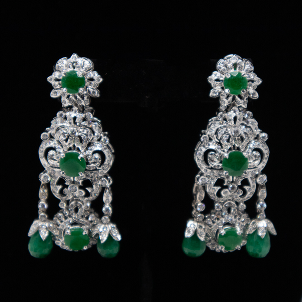 Emerald Green Dreams - Elegant Heritage Finds
