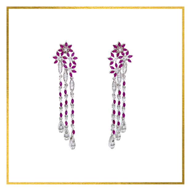 Daisy Earrings - Elegant-Heritage-Finds