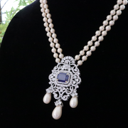 Sapphire Blue Beauty - Elegant Heritage Finds