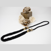 Black Crystal Mala - Elegant-Heritage-Finds