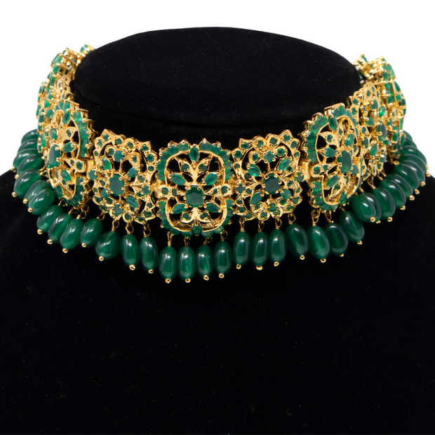 Emerald Green Glamour - Elegant Heritage Finds