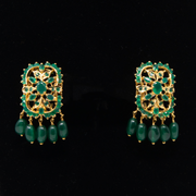 Emerald Green Glamour - Elegant-Heritage-Finds