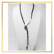 Tribal Spear Slide Necklace - Elegant Heritage Finds